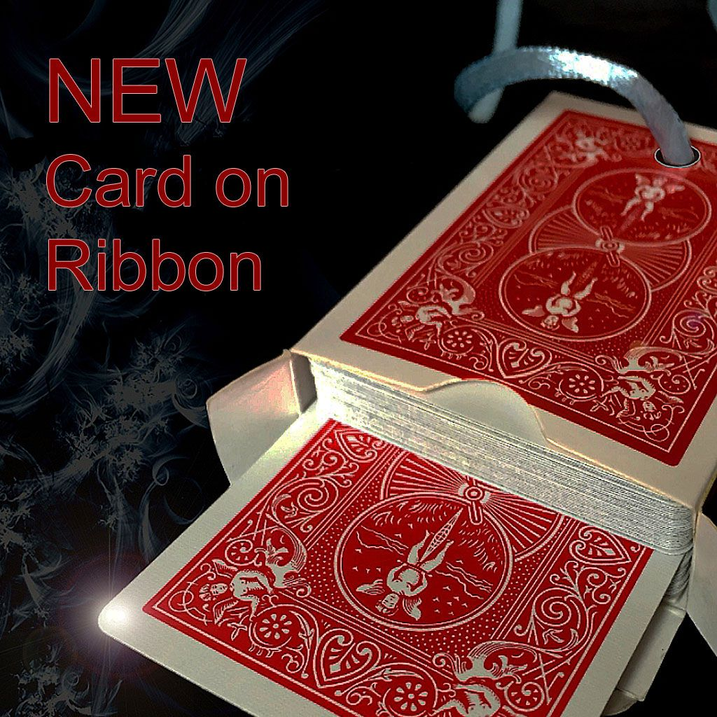 Card on Ribbon - Carta na Fita Mickael Chatelain R+
