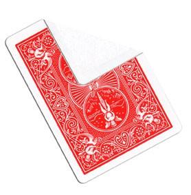 5 Cartas Dorso Vermelha/Face Branca R+