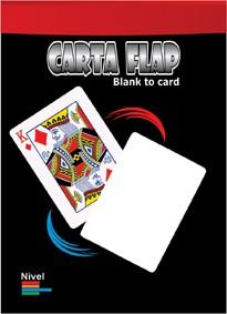 CARTA FLAP - Blank to card