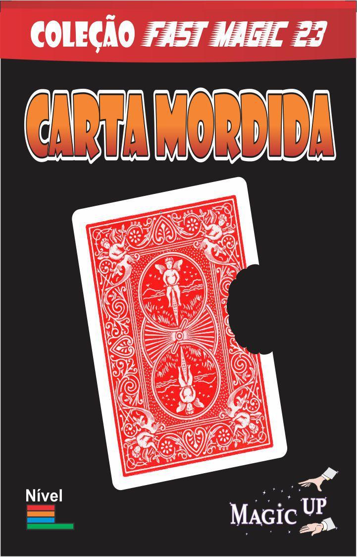 Carta Mordida em Bicycle  - Delicious Card - Coleção Fast Magic N 23 B+
