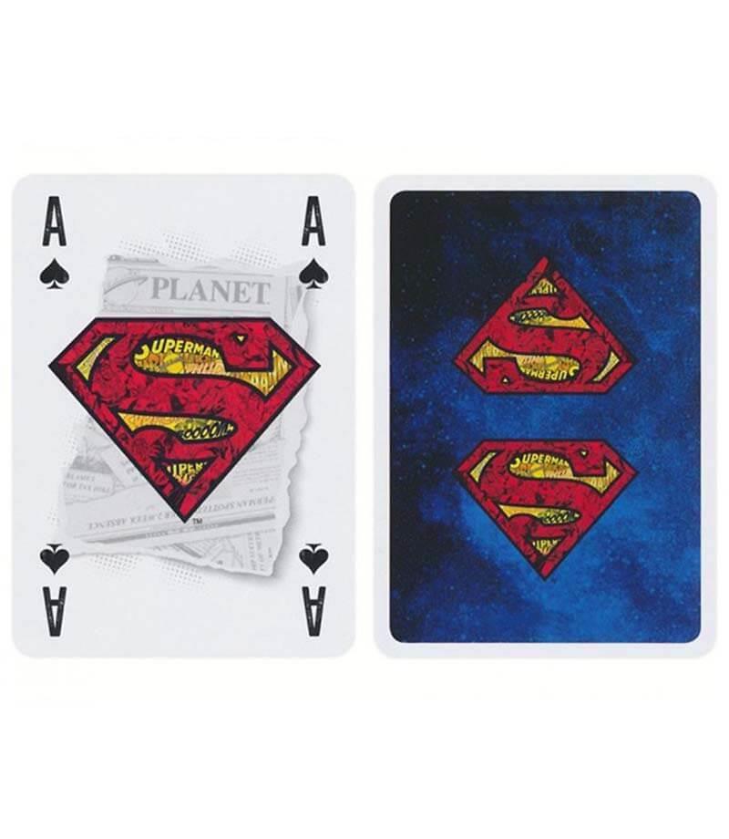 baralho Cartamundi DC Comics Superman  b+