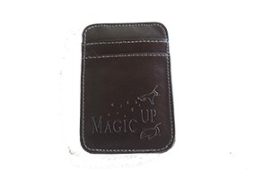 Carteira Flick Luxo Magic Up - Marrom - Coleção Fast Magic N°58 R+