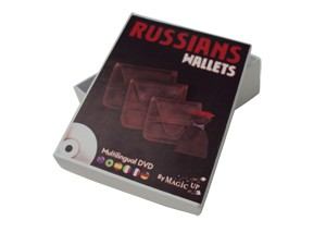 CARTEIRAS RUSSAS + DVD