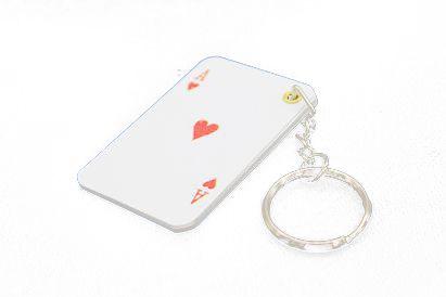 Chaveiro Cartas Las Vegas poker  B+
