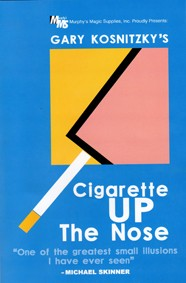 Cigarro desaparece no nariz magica - Cigarette Up The Nose (Gary Kosnitzky`s) R+