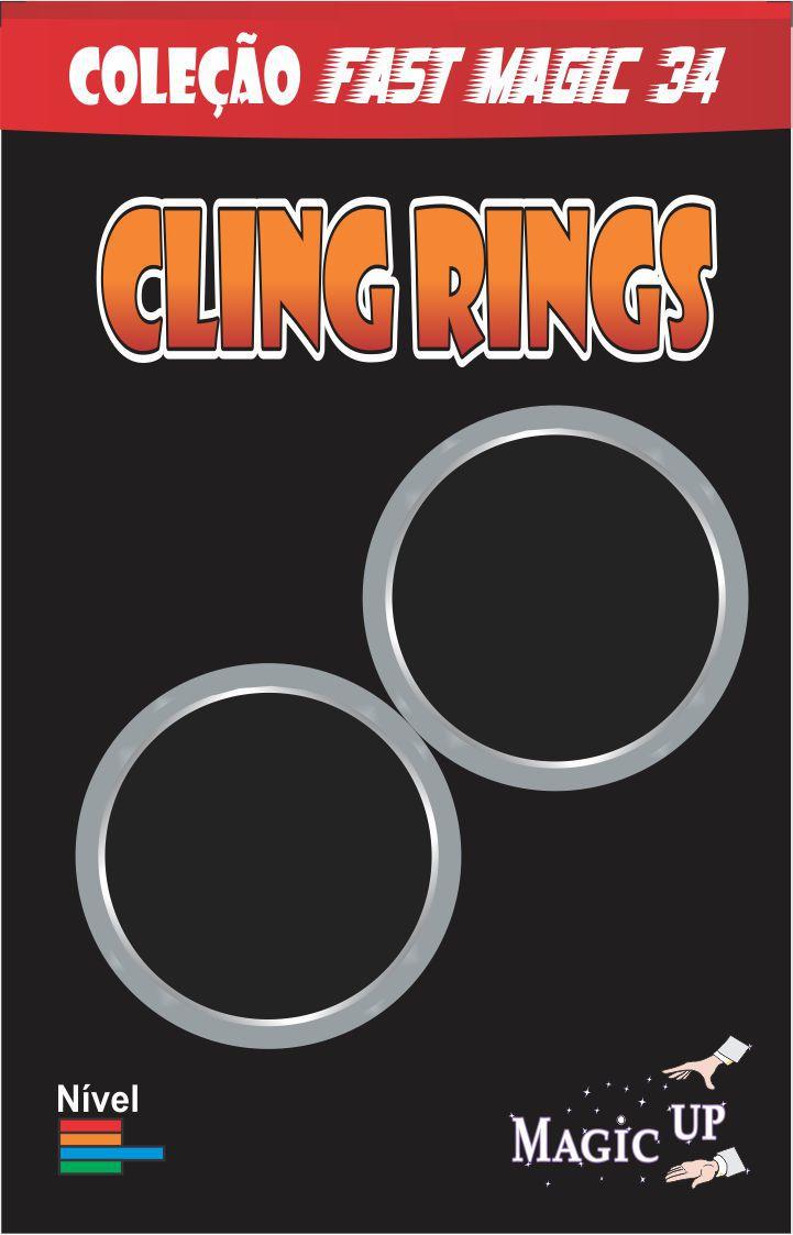 Cling Rings - Coleção Fast Magic N 34 B+