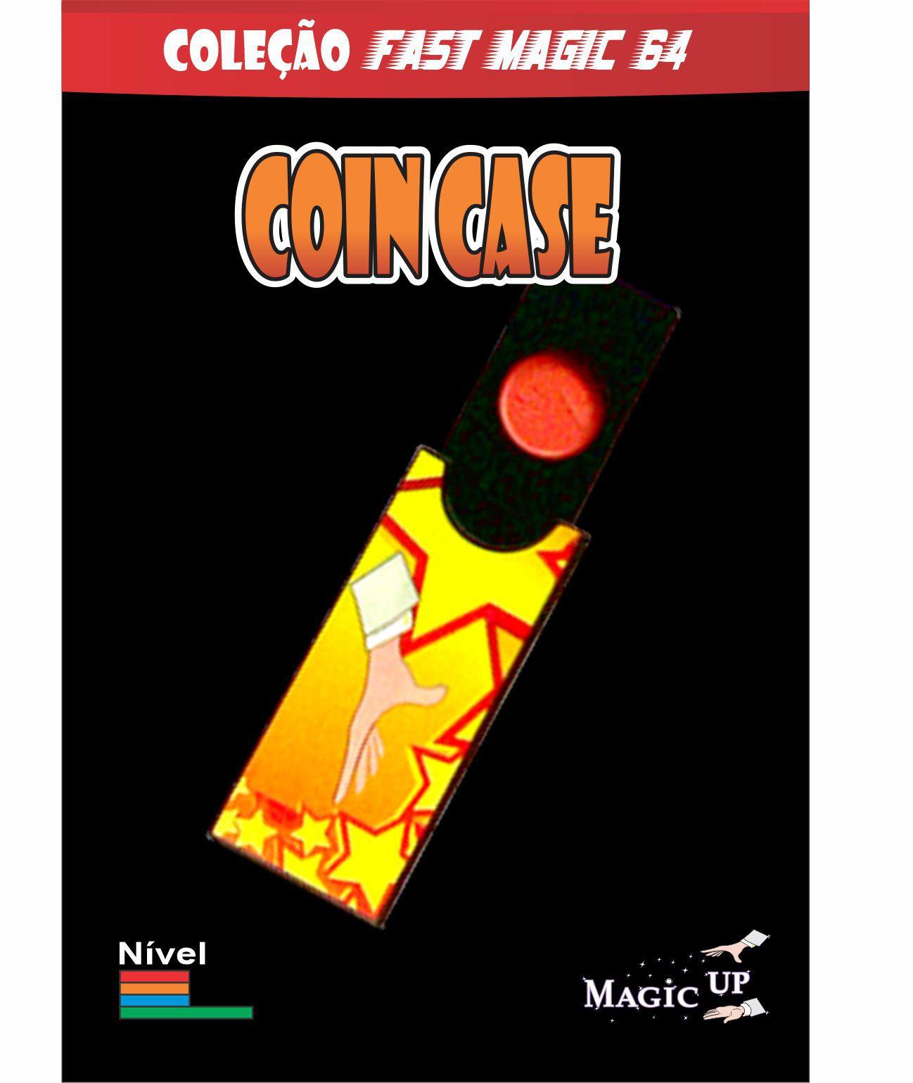 Coin Case- Magica da moeda - Coleção Fast Magic Nº 64