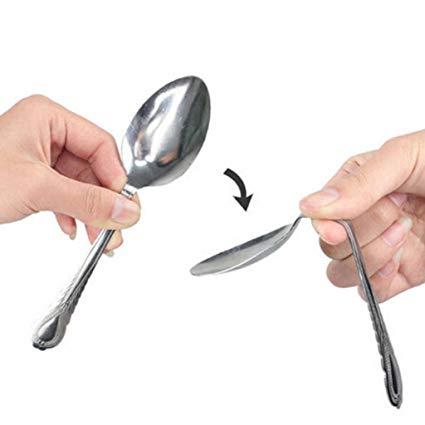 Colher que entorta - Spoon bending B+