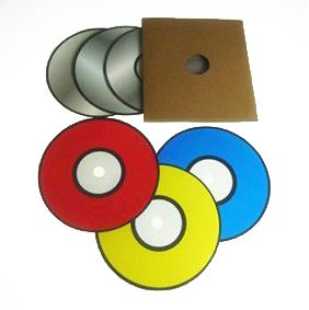 Color Changing Cd - Discos mudam de cores - Coleção Magica Profissional n 06 - Magic Proline R+