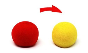 Color Changing Sponge Balls - Bola Muda Cor M+