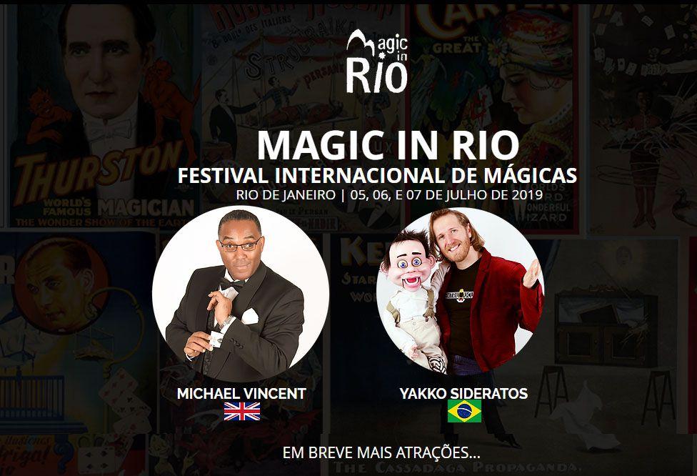 Congresso MAGIC IN RIO - 5 a 7 de julho de 2019