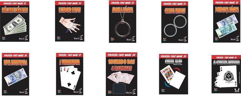 Conjunto mágica coleção fast Magic 31 a 40