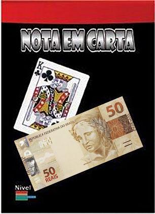 Nota em carta 50 reais - Risky bet em nota brasileira B+