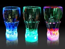 COPO COM LED  - FANCY LIGHT GLASS