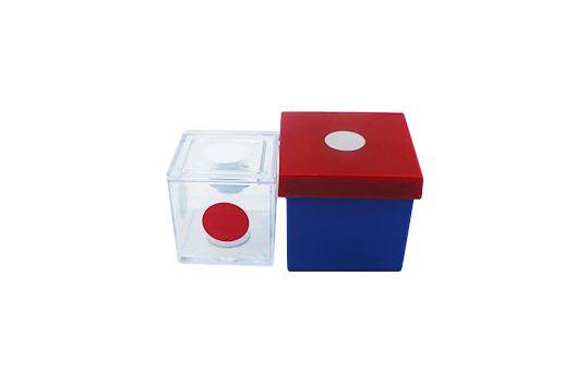 Cubo das Cores (Acrílico) - Advinha a cor do cubo  R+
