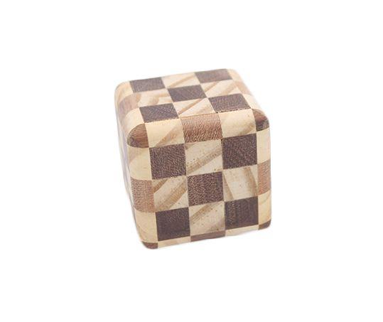 Cubo Do Segredo Madeira - Quebra Cabeça J+