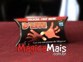 D LITE DELUXE ( 1 PAR ) - VERMELHO - COLEÇÃO FAST MAGIC Nº 01