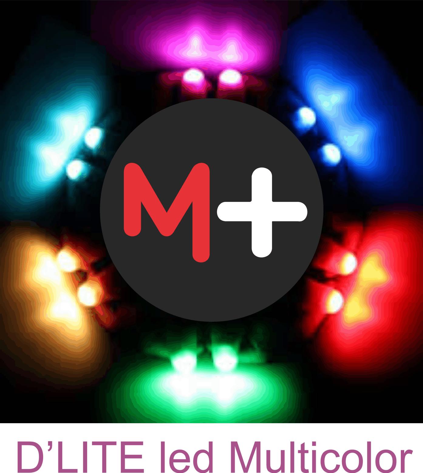 D´lite  (1 par) - Multicolor - Dlight - Coleção Fast Magic N 01 R+