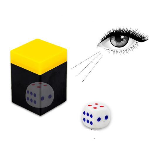 Dado Misterioso quadrado - Coleção Fast Magic N 07 R+