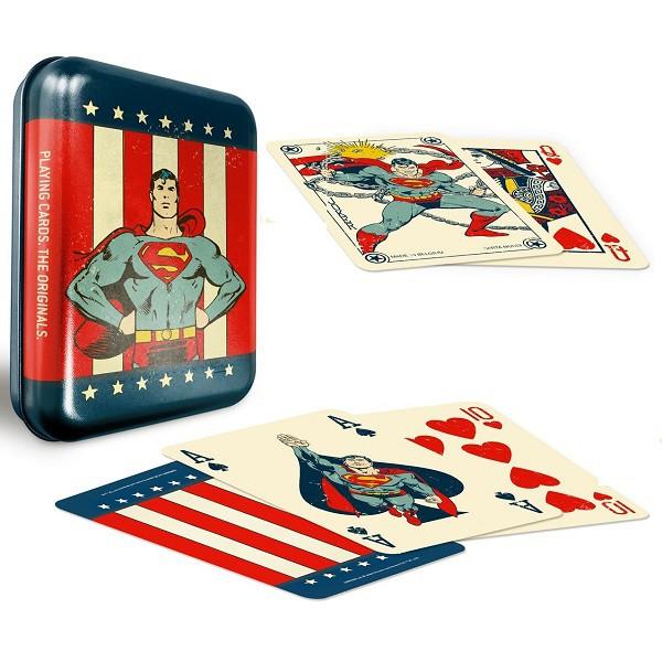 DC Super Heroes Superman Tin Case B+