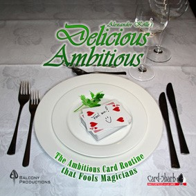 Delicious Ambitious by Alexander Kolle and Card + DVD