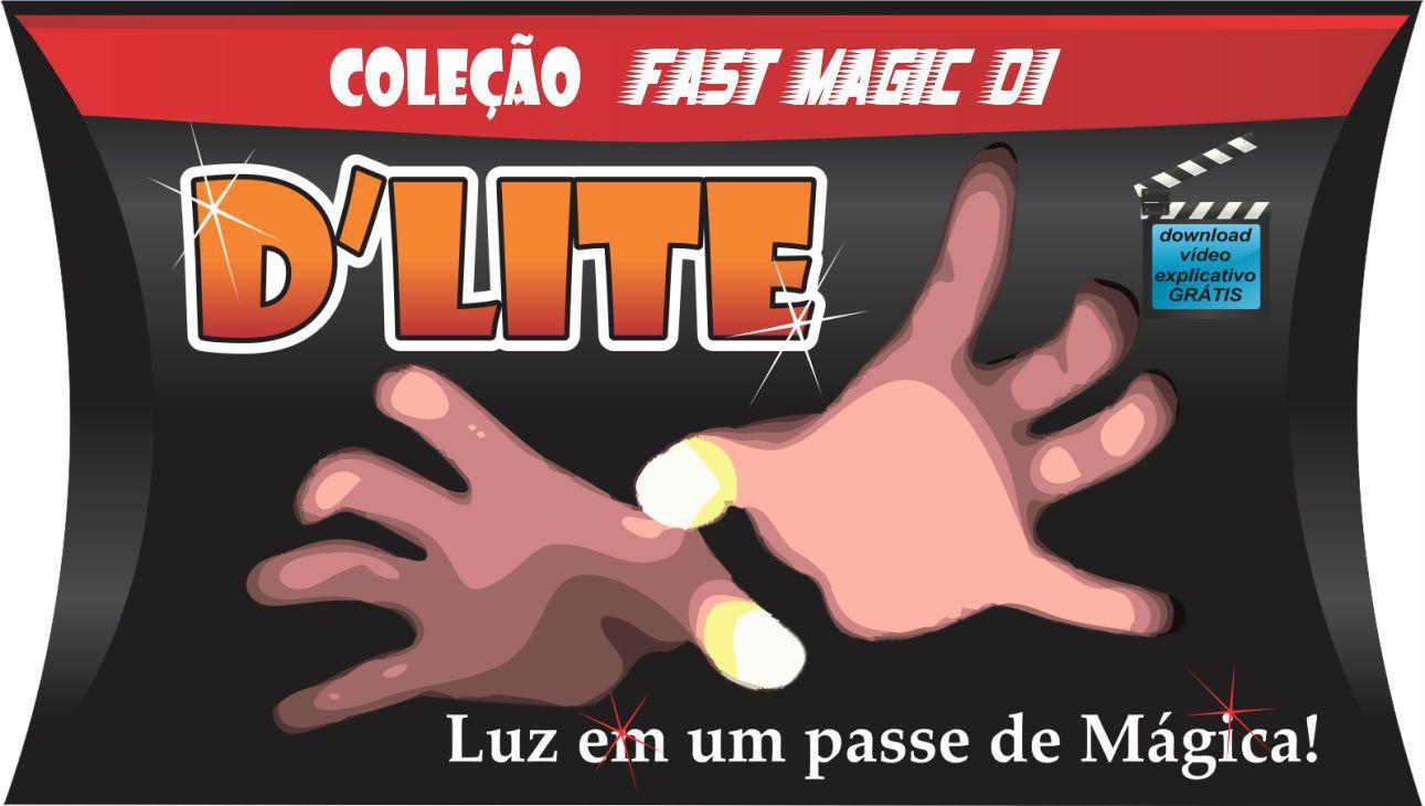 D´lite  (1 par) - vermelho - Dlight - Coleção Fast Magic N 01 B+