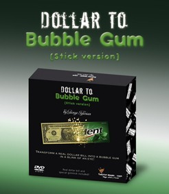 DOLLAR TO BUBBLE GUM (Stick Gum) trident