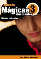 DVD - APRENDA MÁGICAS ALUCINANTES Vol. 3