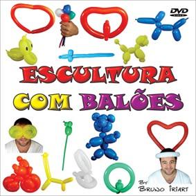 DVD - ESCULTURA COM BALÕES