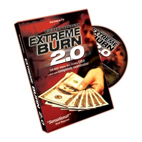 DVD - Extreme Burn 2.0 With by Richard Sanders + Gimmick