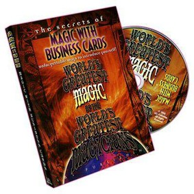 DVD - MAGIC WITH BUSINESS CARDS