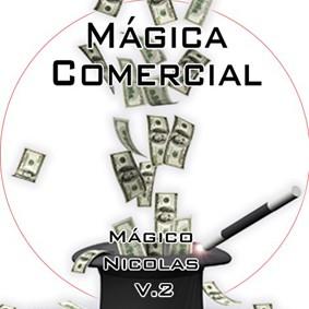 DVD MÁGICA COMERCIAL VOL 2 - BY MÁGICO NICOLAS