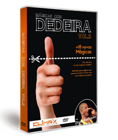 Dvd - Mágicas Com Dedeira Vol.2 J+