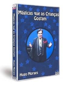 DVD MÁGICAS QUE AS CRIANÇAS GOSTAM - HUGO MORAES