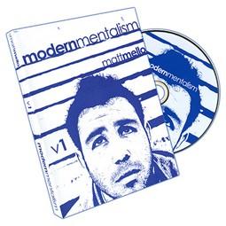 DVD- Modern Mentalism Vol. 1 by Matt Mello