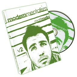 DVD- Modern Mentalism Vol. 2 by Matt Mello