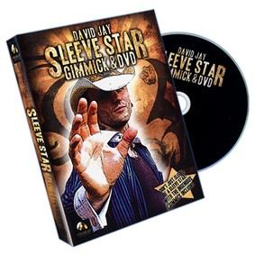 Sleeve Star + Gimmick By Wizard Fx Productions And David Jay  D+