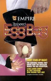 EGG BAG ZIPPERED EMPIRE