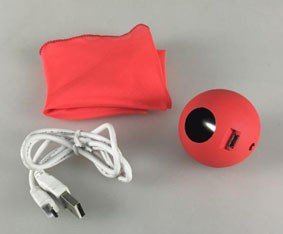 ELECTRIC SILK TO BALL - SLOW SPEED VERMELHO