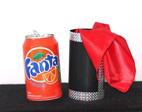 Fanta can Vanish - Desaparecimento da lata de Fanta Laranja B+