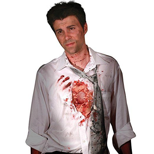 Camisa  Digital  Coração Batendo Aberto Arrancado  - Beating Heart Flesh Iwound  B+