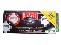 FICHAS BICYCLE 8g x100