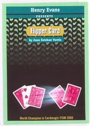 FLIPPER CARD COR VERMELHO