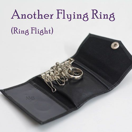 Flying ring classic - carteira porta chaves com reel