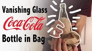 Garrafa de latex coca  pequena que desaparece, Vanishing coke botlle