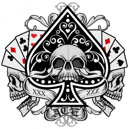 Gothic Spade 2 Anel Prata Tamanho 18,19,20,21 D+