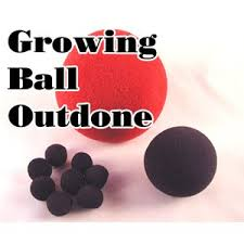 Bola de espuma Growing Ball Outdone, goshman R+