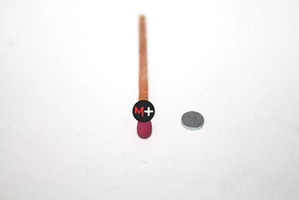 Imã Neodímio 6X1mm D+