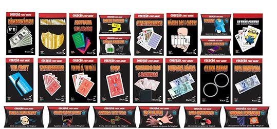 Kit Coleção Fast Magic 2 G+