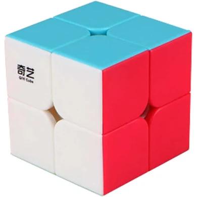 set Cubo Magico n2 - Qiyi com 4 peças- 2x2 3x3 4x4 5x5 luxurious set  B+
